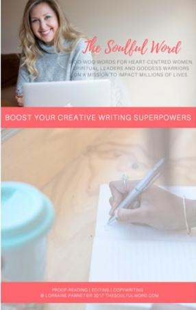 small creative writing logo